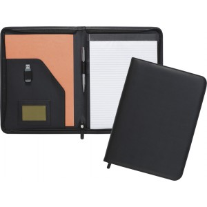 New Dartford A4 Zipped Folder