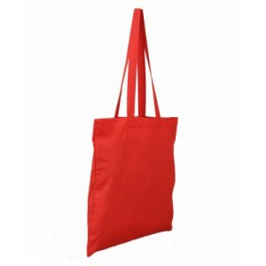 Invincible Cotton Shopper - Red