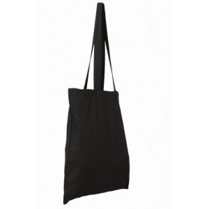 Invincible Cotton Shopper - Black