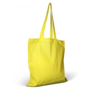 Invincible Cotton Shopper - Yellow