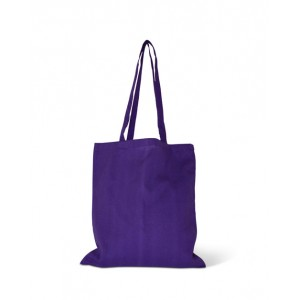 Invincible Cotton Shopper - Purple