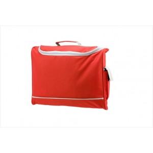 Harvard Document Bag - Red