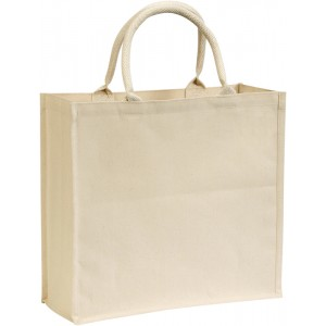 Broomfield' 7oz Laminated Cotton Canvas Tote Bag