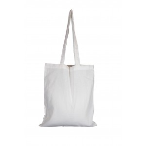 Invincible Cotton Shopper - White