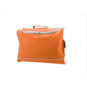 Harvard Document Bag - Orange