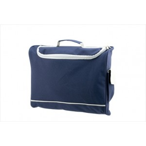 Harvard Document Bag - Navy Blue