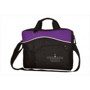 Briefcase Bag - Purple